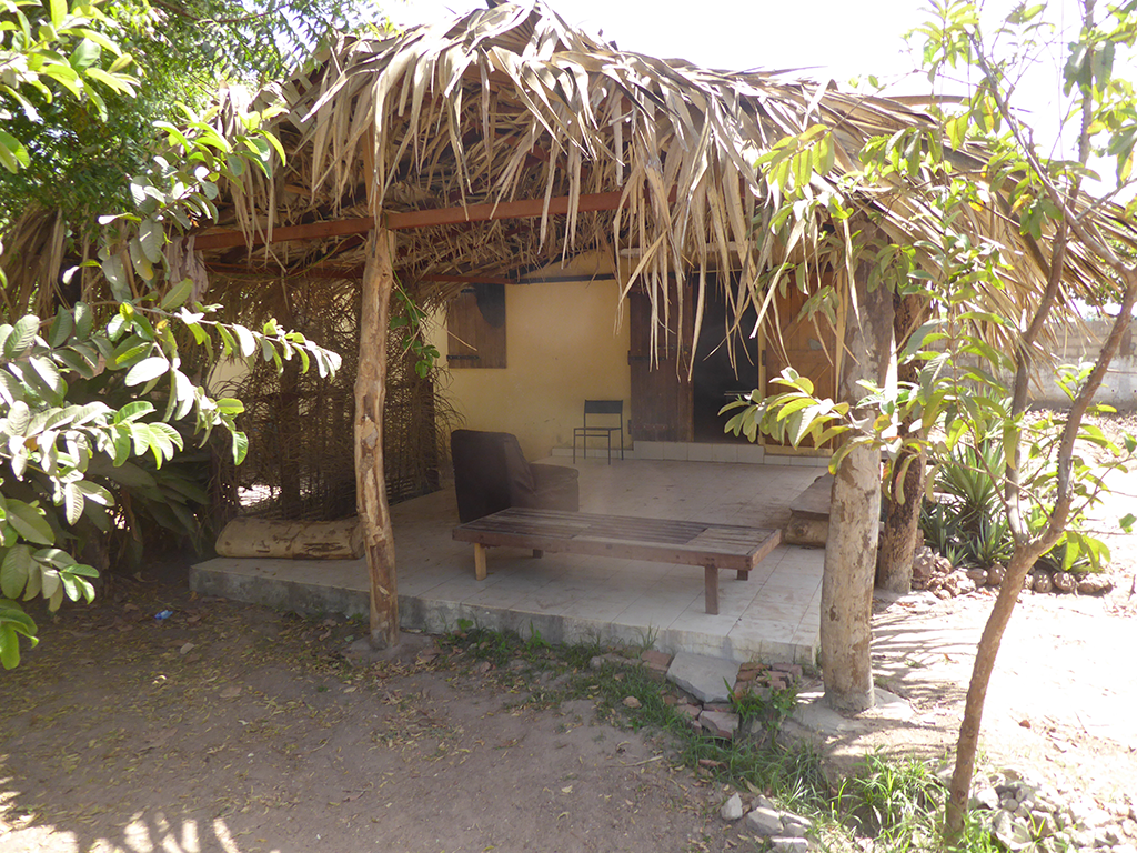 Experience living in traditional round huts